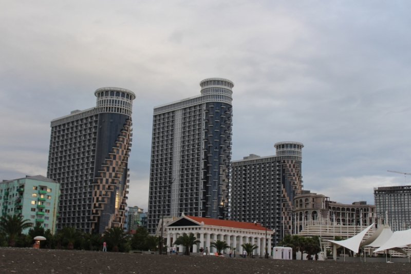 Путешествие через Крестовый перевал. Тбилиси, Батуми, Уреки.Заметки автомобилиста.