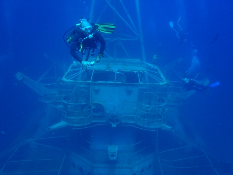 Wreck на острове Чанг (самый большой в Таиланде)