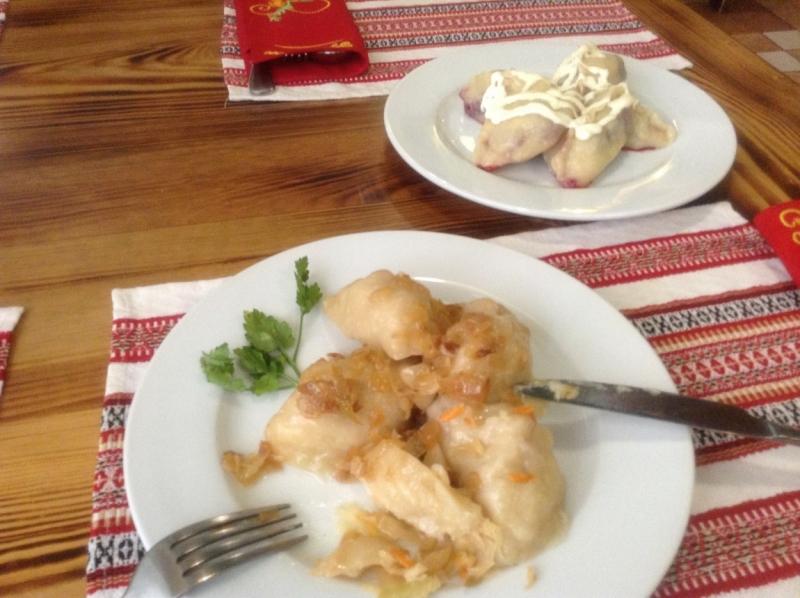 Вкусно поесть в Киеве
