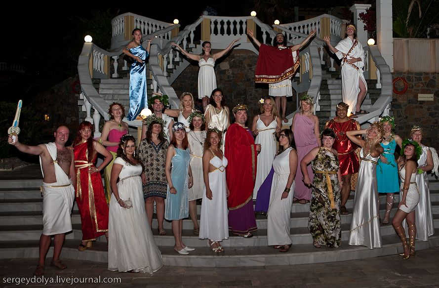 Поздравление для греческой богине на юбилей