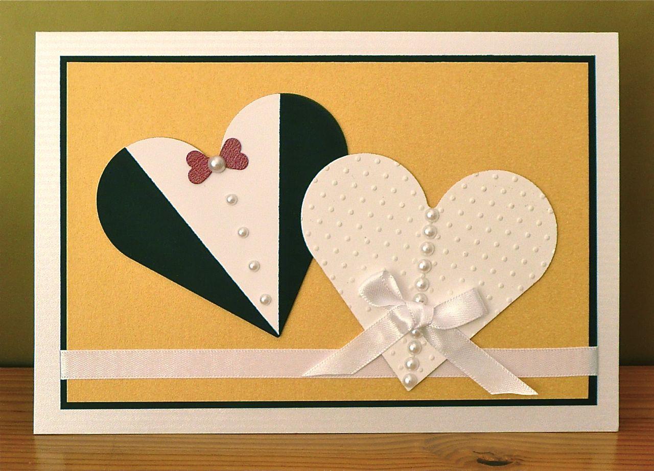сделать красивую открытку на годовщину свадьбы которая