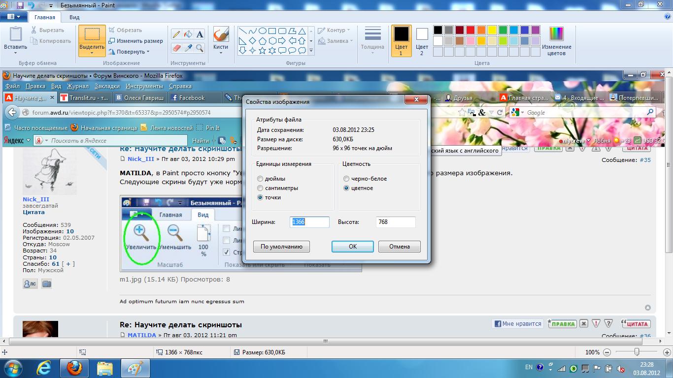 Как сделать скриншот только рисунка 831