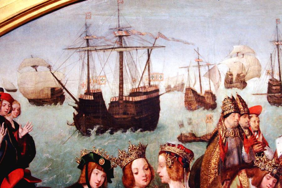 корабль с богатством фото фрески надо