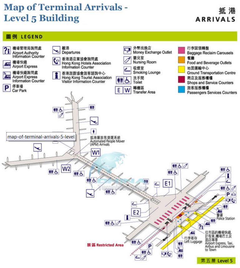 Схема аэропорта в гонконге на русском
