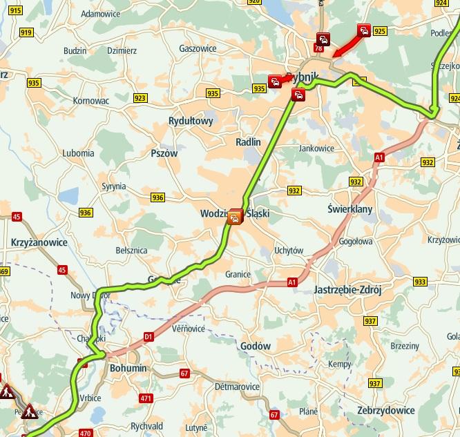 построить маршрут на автомобиле между городами по карте автомобильных дорог