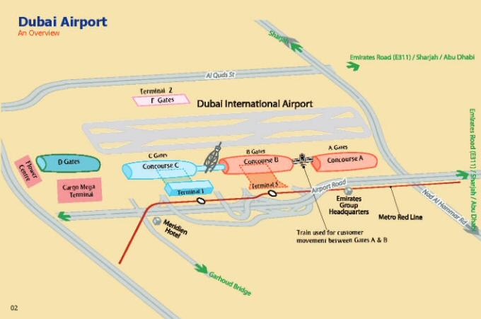 Аэропорт дубай на карте оаэ недвижимость дубай правила