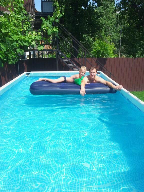Как почистить воду в бассейне в домашних условиях 412