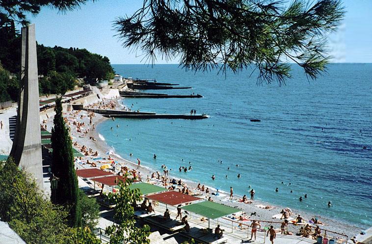 Лучшие пляжи Мисхора (Кореиза Крым: фото, отзывы, описания) 3