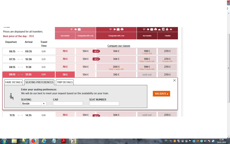 Скоростные поезда Thalys - Страница 18 • Форум Винского
