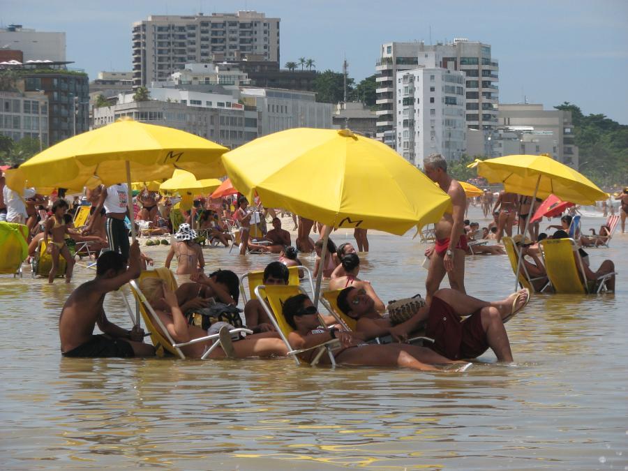 пляжи в Рио де Жанейро