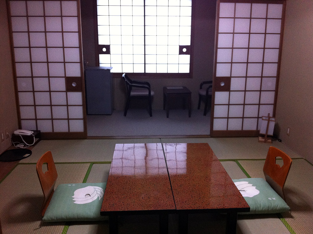 Традиционная гостиница рёкан и онсэн в Японии