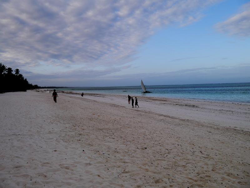 Пляж Матемве Занзибар