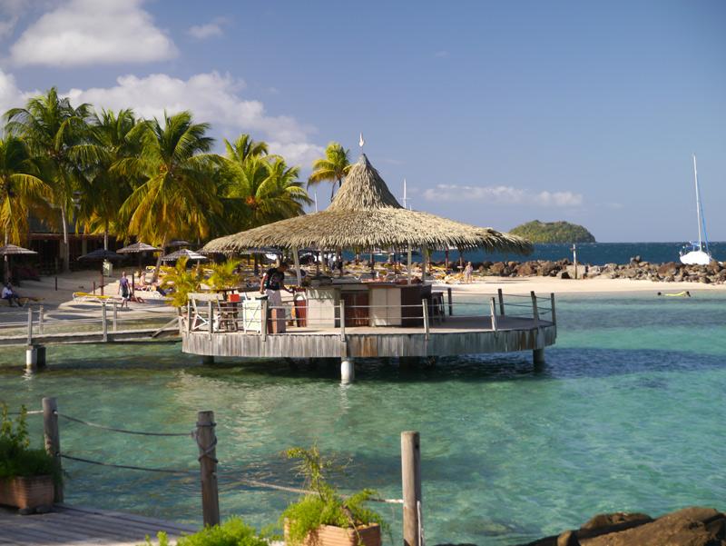 Пляжи Мартиники