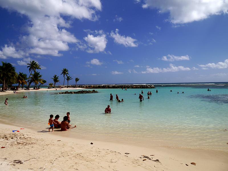 Гваделупа остров в Карибском море