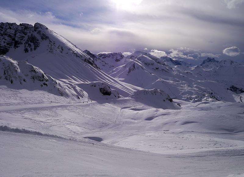 Горные лыжи в Австрии: Лех, Цурс