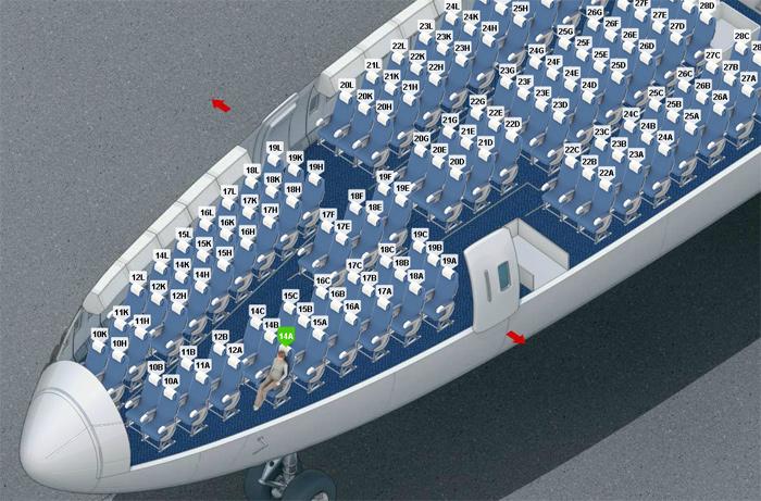 Boeing 747 400 схема фото 547