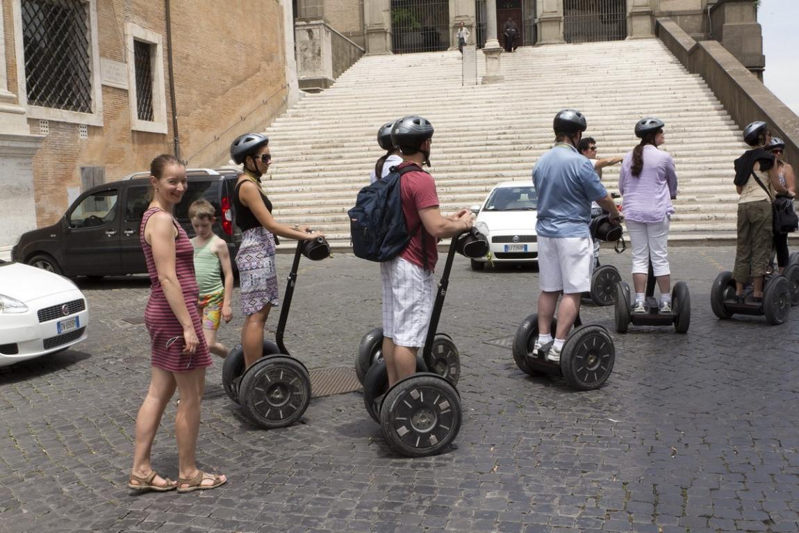 Мы двигались к Колизею