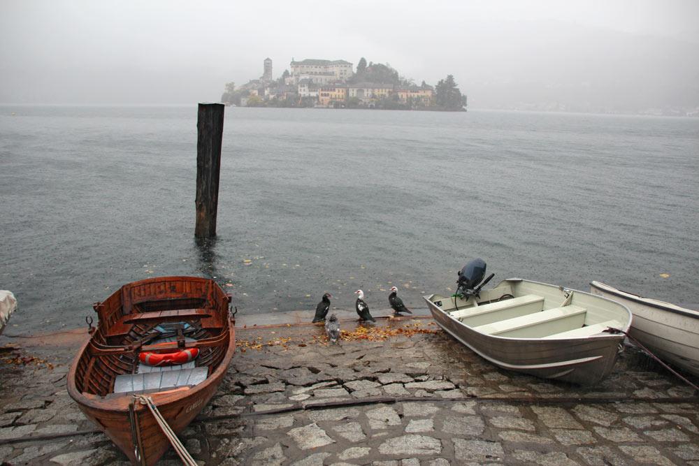 Озеро Орта и остров Сан-Джулио, Италия