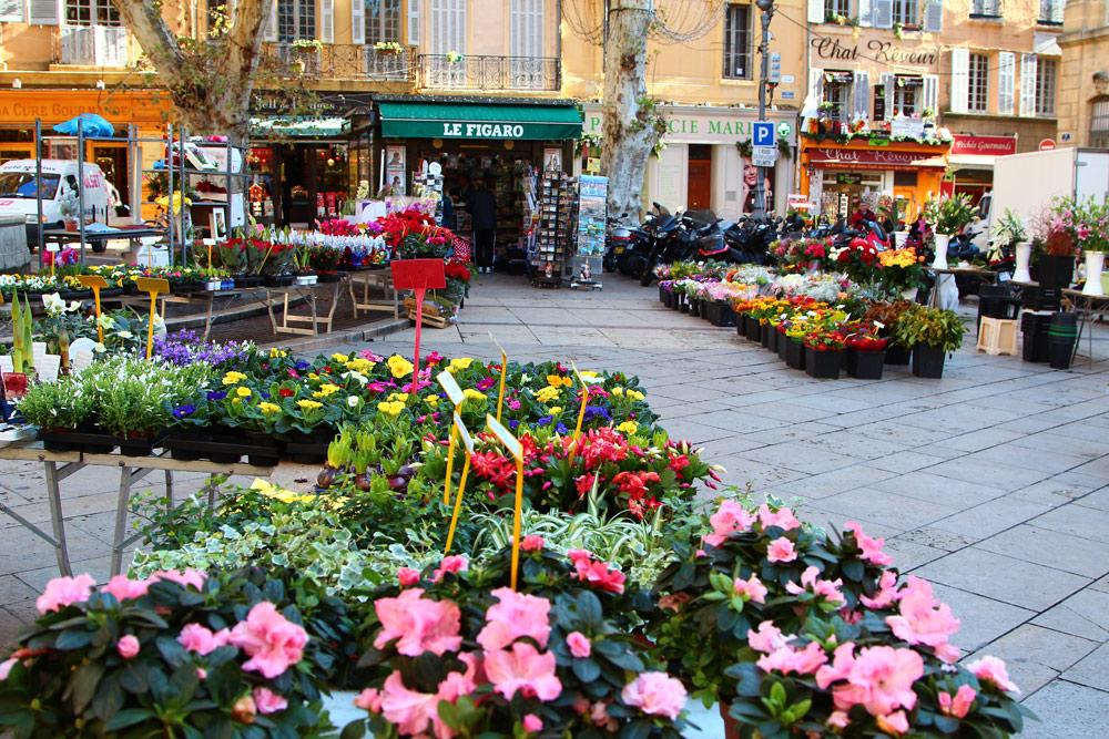Рынки в Экс-ан-Провансе