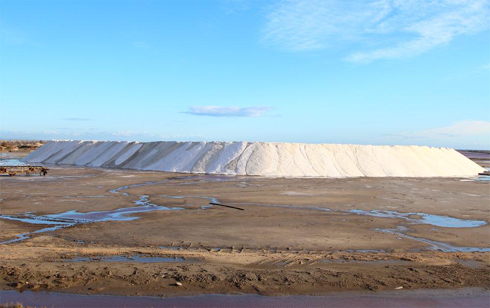 Добыча соли во Франции