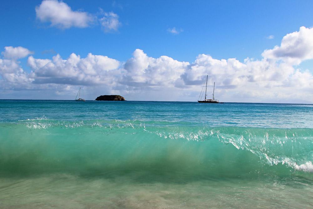 пляжи на острове Сен-Барт