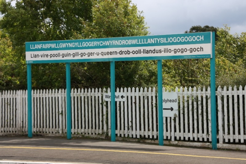 Уэльс достопримечательности: город с самым длинным названием