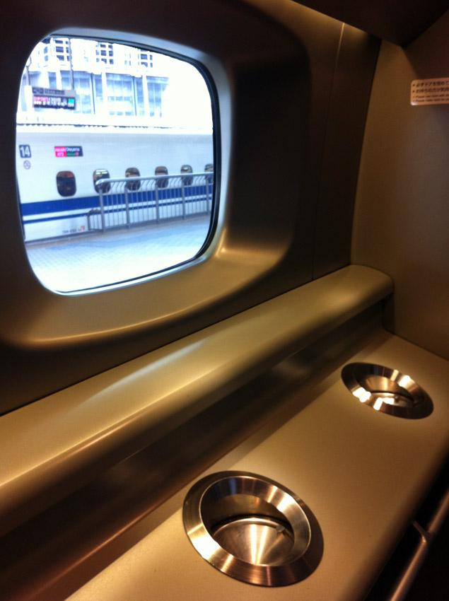 Синкансэн быстрый поезд в Японии
