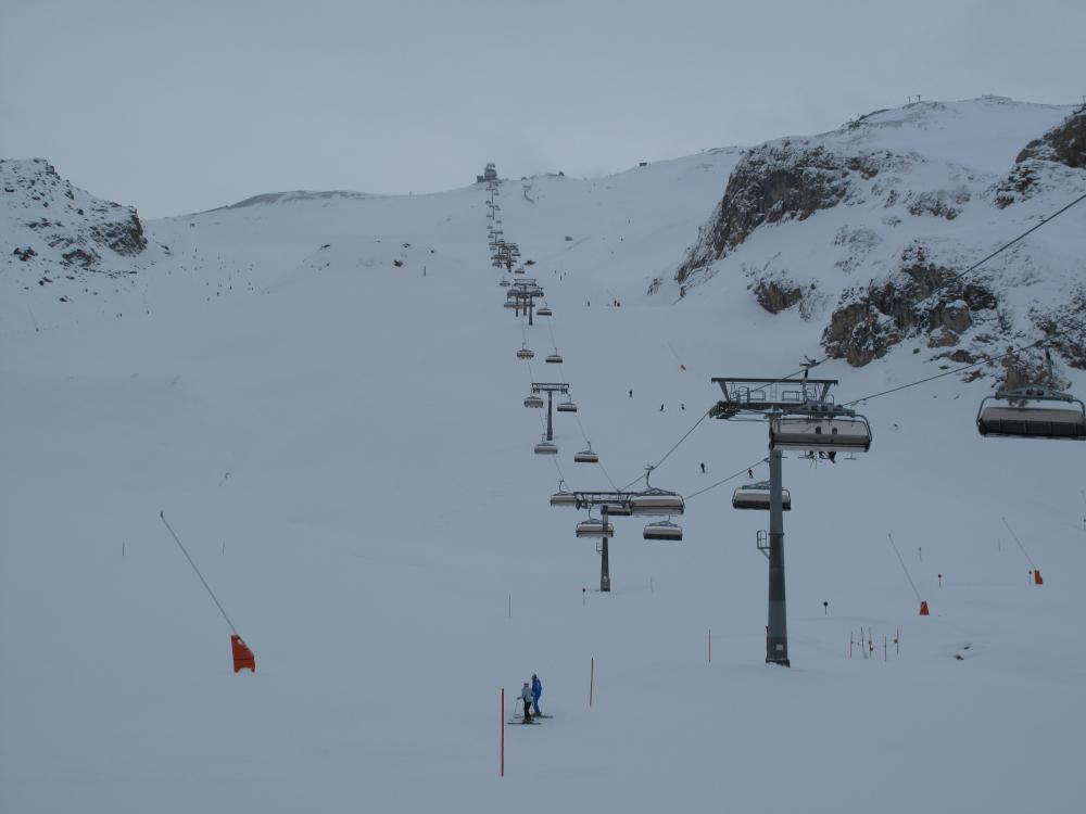 Ишгль трассы сноуборда