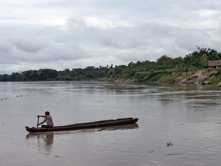 Церемония Ну-Ну в джунглях Амазонки