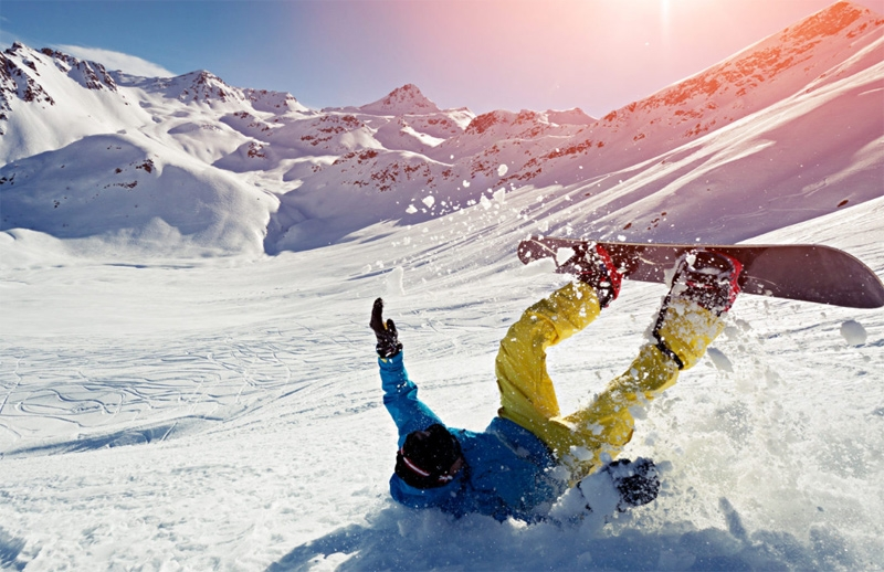 учимся кататься на сноуборде