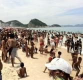 Пляж в Рио