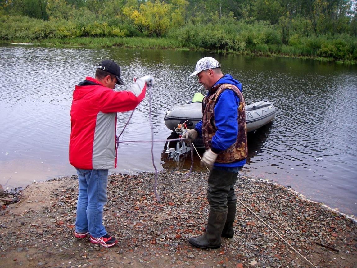 рыбалка в ноябрьске