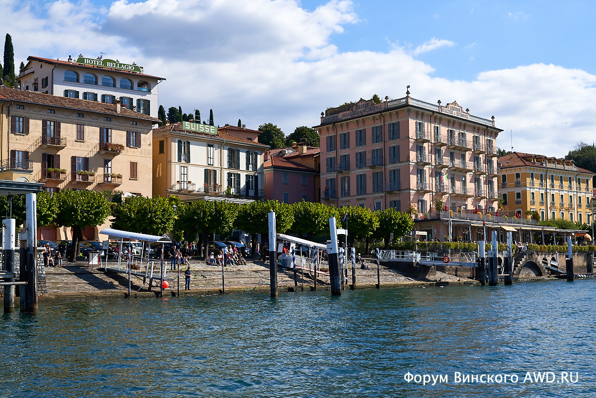 Озеро Комо аренда катера и виды на Lake Como с воды: что посмотреть на озере Комо