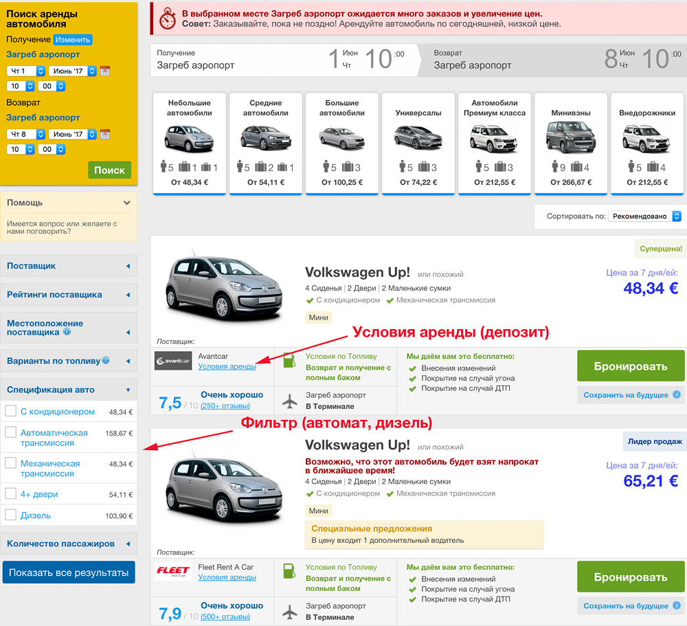 Цены по аренде автомобиля купить билет на поезд кисловодск киев