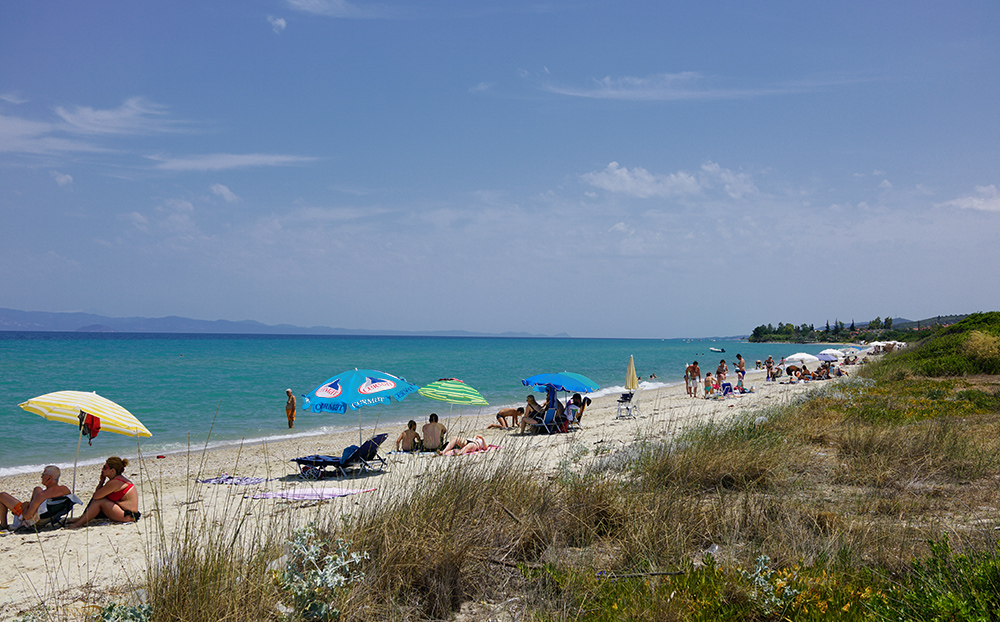 Кассандра отзывы о пляжах, что лучше Кассандра или Ситония