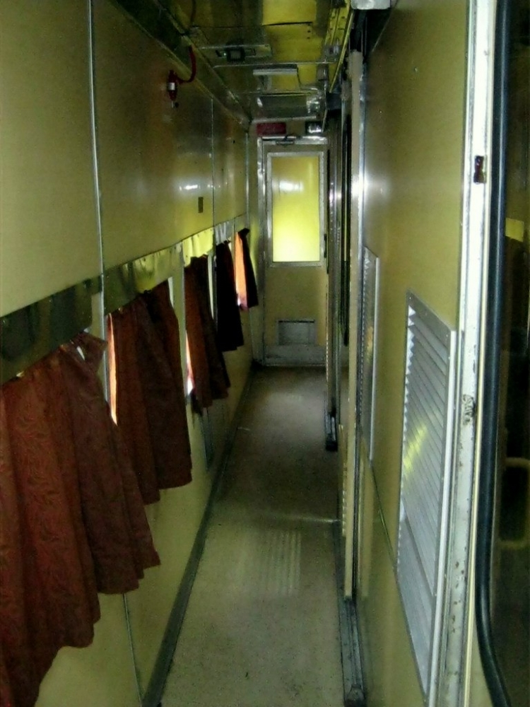 Фото вагона в нутри поезда