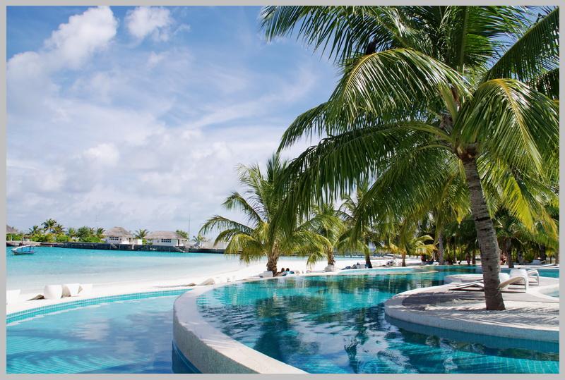 Мальдивы. Holiday Inn.