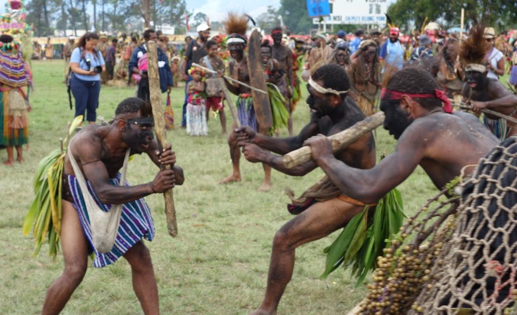 Конкурсы папуасов