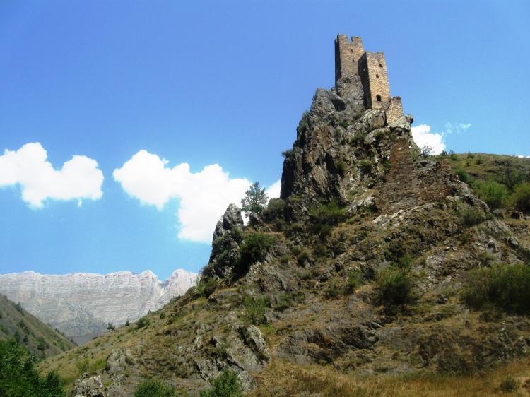 Северный Кавказ ( Кабардино-Балкария, Ингушетия, Чечня, Северная Осетия). Июнь 2016 г.