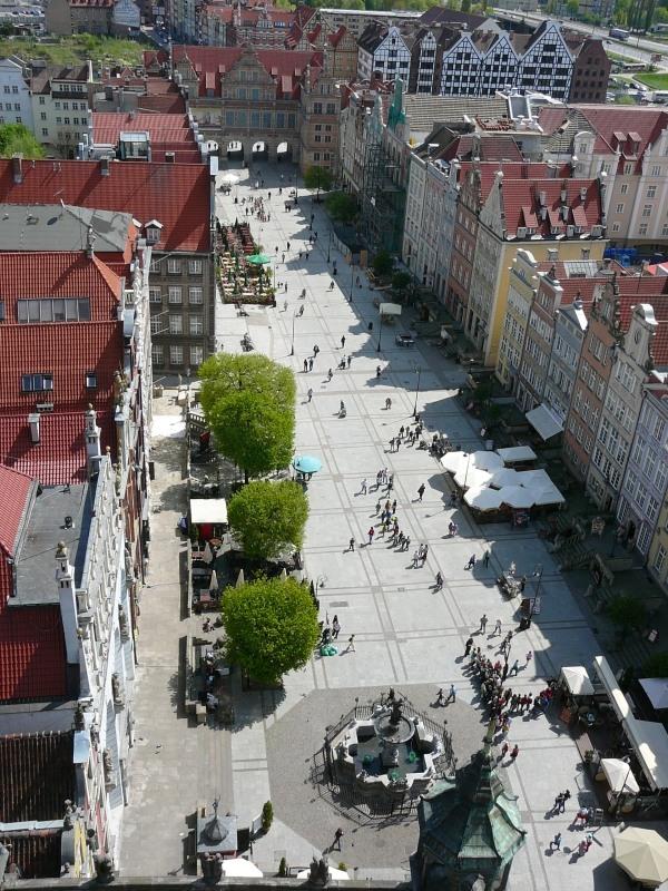 Гданьск - вид с высоты птичьего полета фото Gdansk • Форум Винского 8368f7580ce