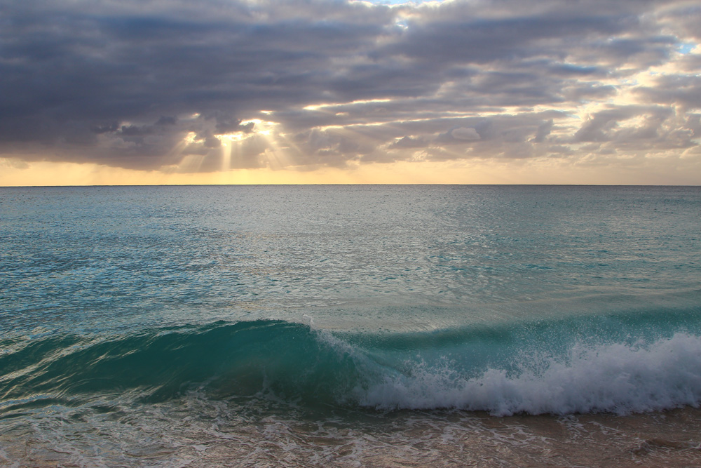Пляж Махо на острове Сен-Мартен