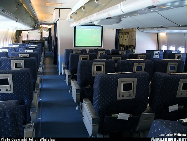 схема салона трансаэро боинг 747