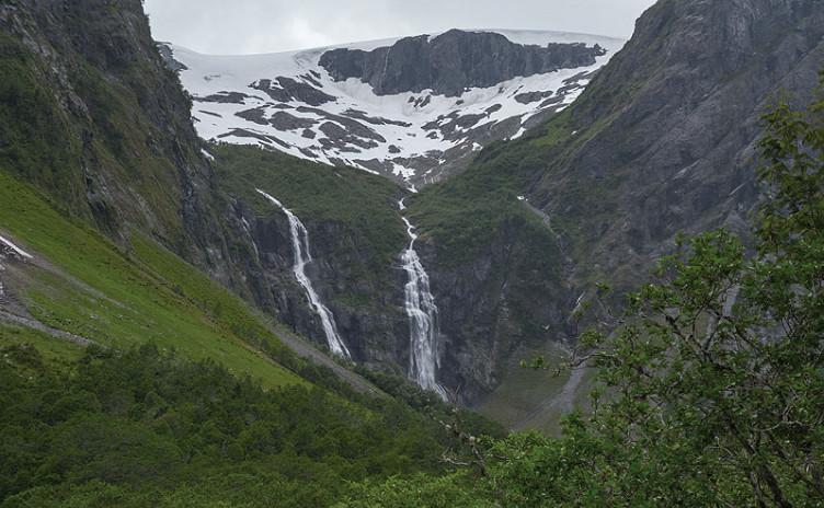 Норвегия, лето 2016. Одни сутки  красивого  путешествия…