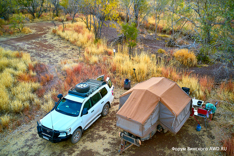 Путешествие по Кимберли (Западная Австралия) на 4WD с трейлером