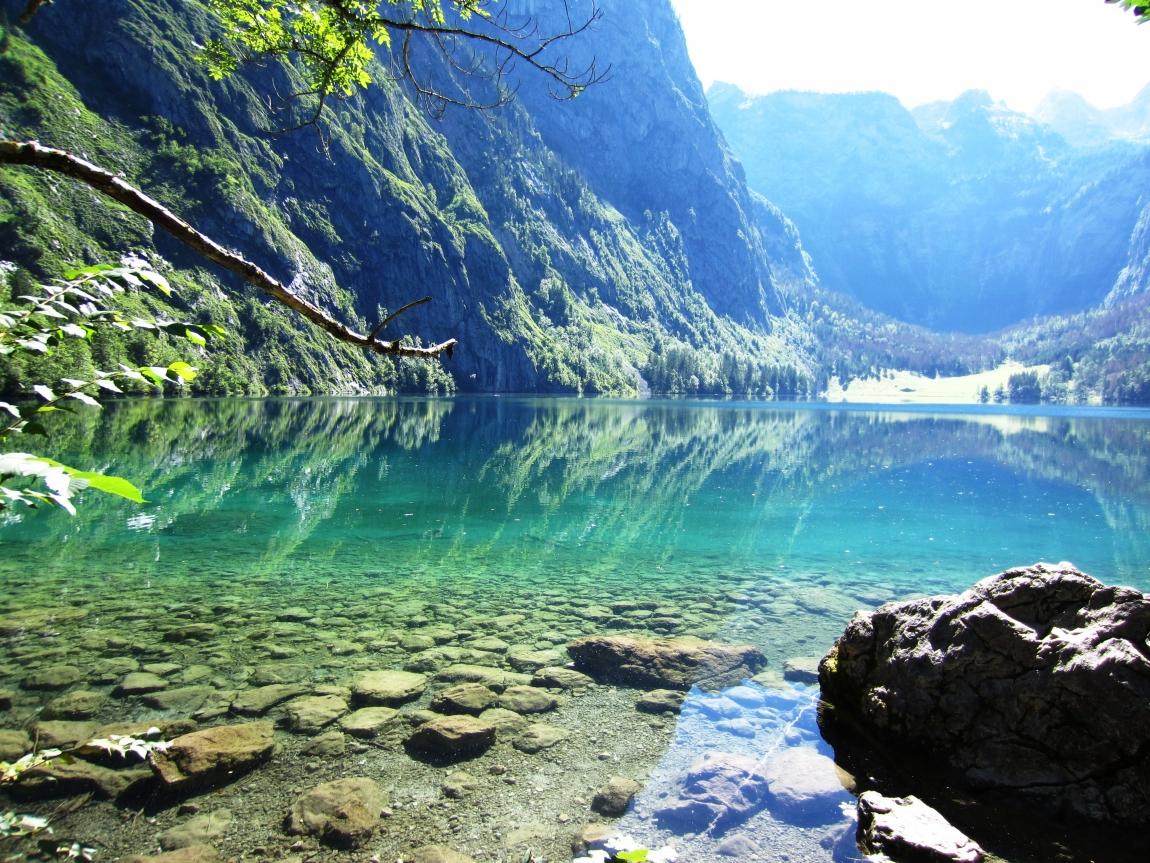 Кёнигзее - самое чистое озеро Германии (29 фото)