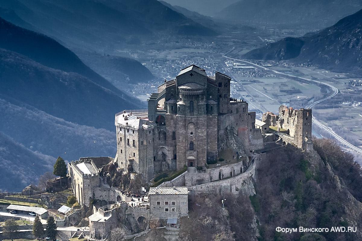 Окрестности Турина куда съездить: Монкальери, Суза, Sacra of Saint Michele