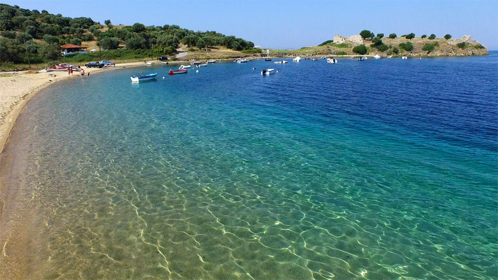 пляжи ситонии фото самое проделываем