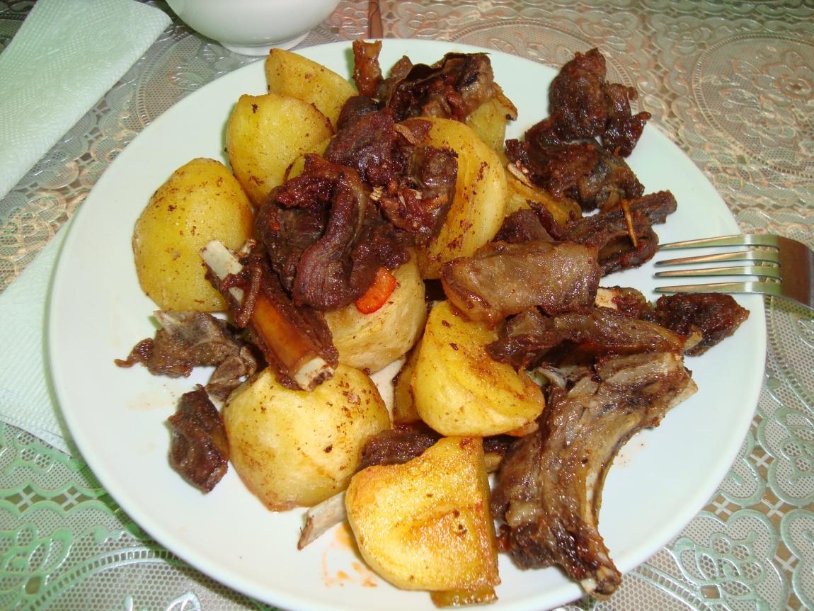 поджарка из баранины рецепт с фото пошагово