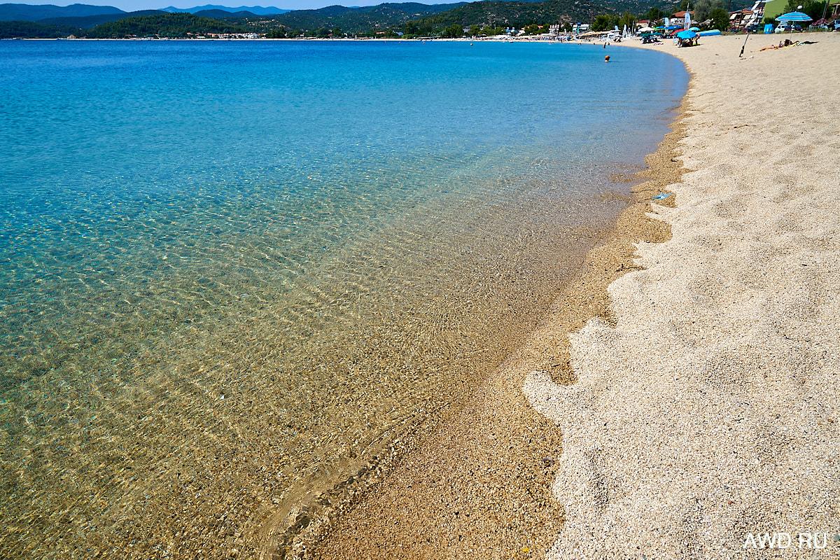 Большие апартаменты рядом с морем на пляже Торони