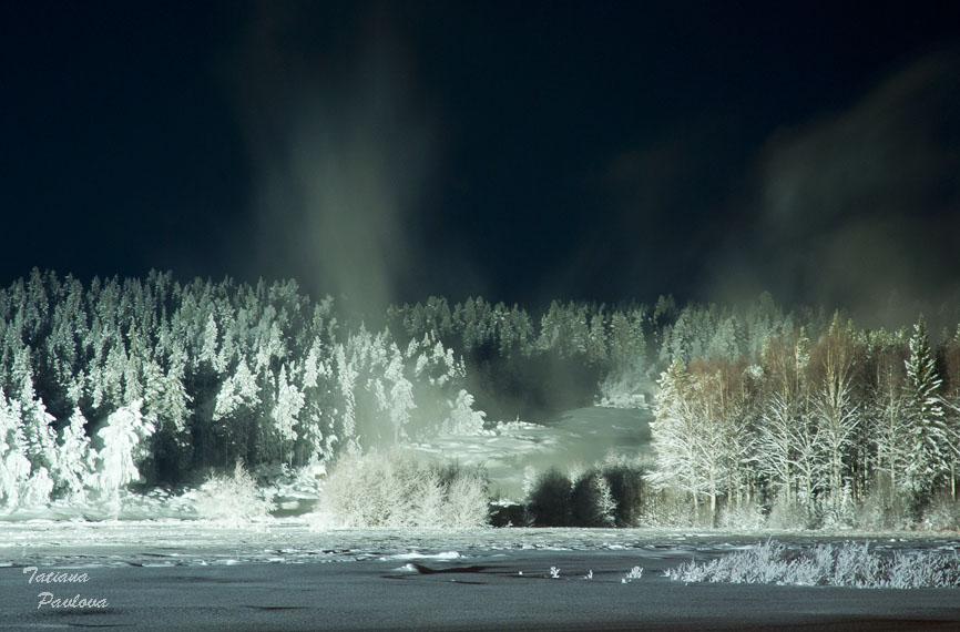 Зимняя поездка в Северную Швецию. Январь2012